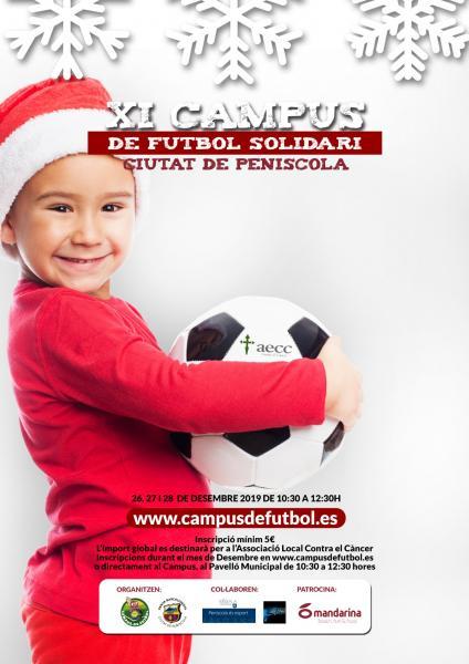 El XI Campus Solidario de Peñíscola se celebra del 26 al 28 de diciembre