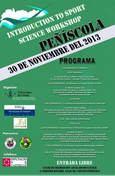 Peñiscola Sport Science Workshop