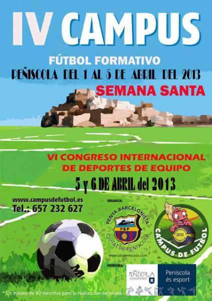 IV Campus de Futbol Semana Santa 2013