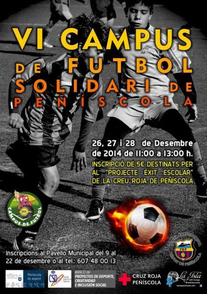 El campus solidario se celebrará del 26 al 28 de diciembre