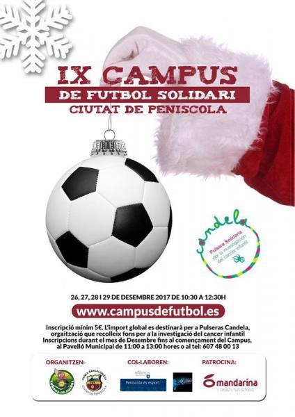 El Campus Solidario se celebrará del 26 al 29 de diciembre