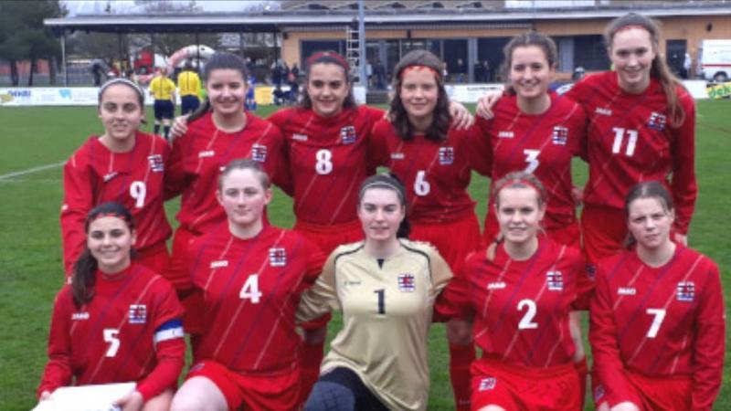 Nuestra alumna Lucia Ruiz convocada por  federación luxemburguesa de fútbol femenino